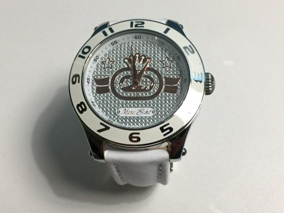 Relógio Marc Ecko The Royce Branco Frete Grátis