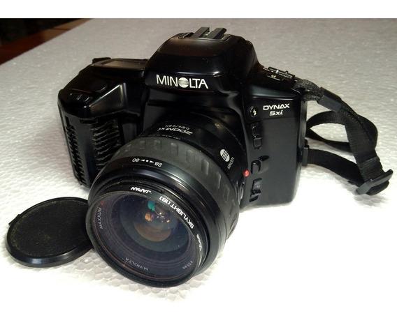 Câmera P/ Colecionador Minolta Maxxum Dynax 5xi Slr 35mm