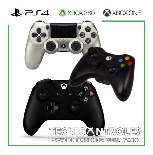 Reparación Controles Xbox One Xbox 360 Y Ps4