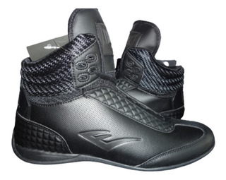 Zapato P/box O Casual Everlast Round 3 Negro Caballero Fpx