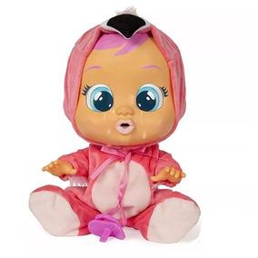 Boneca Cry Babies Flamy Chora Lágrimas De Verdade Multikids