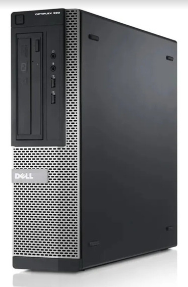 Cpu Computador Desktop Dell Optiplex 390 I3 4gb Windows 7