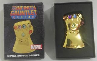 Destapador Infinity Gauntlet Endgame Infinity War Avengers