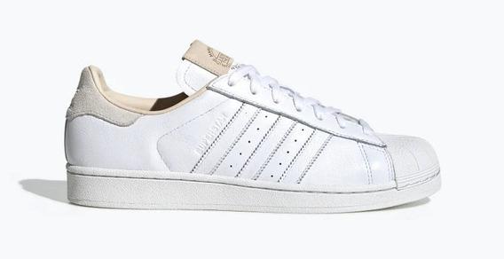 Zapatillas adidas Superstar Blanca-beige De Hombre