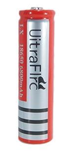 Bateria Recarregavel Li-ion 4.2v Lx 18650 6800mah P/ Lantern