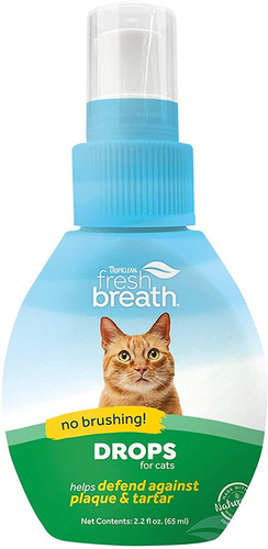Tropiclean Fresh Breath Oral Care Drops For Pets - Made In U