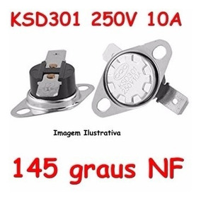 Termostato Ksd301 145 Graus Nf 250v 10a