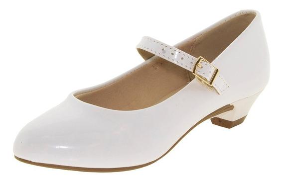 Sapato Infantil Feminino Branco Molekinha - 2166414