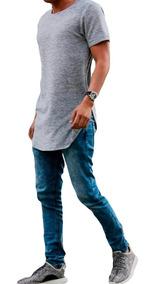 Camisa Camiseta Oversized Longline Swag Stecchi Promoção