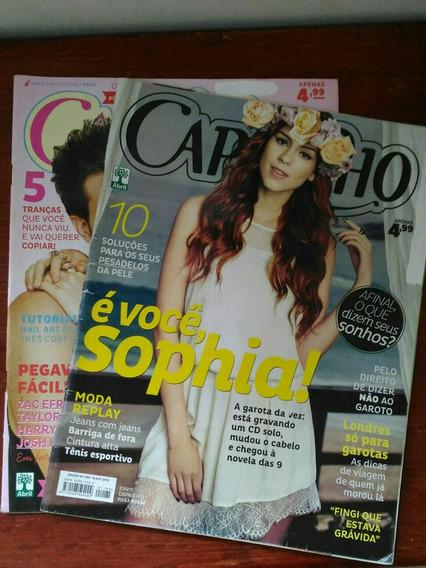 Kit Revistas Capricho Sophia Abrahão - N° 1185 E 1176