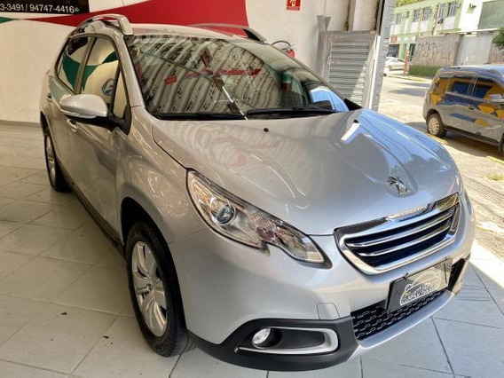 Peugeot 2008 1.6 Allure Flex 5p Manual 2017 Completo Lindo !