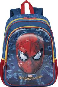 Mochila Escolar Infantil Spiderman 3d Gde