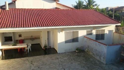 Casa De Frente Para O Mar Em Peruíbe Ref. 5196 M H