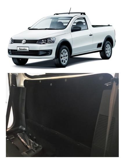 Forração Interna Traz Saveiro G5 G6 G7 Cabine Simples Preto