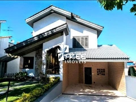 Venda Casa -  Condomínio Arujázinho 5  Com A/t 600m² E A/c 320m²,casa Mobiliada Com Eletrodoméstico Menos Tv E Sofá Nas D - Ca01428 - 33273280