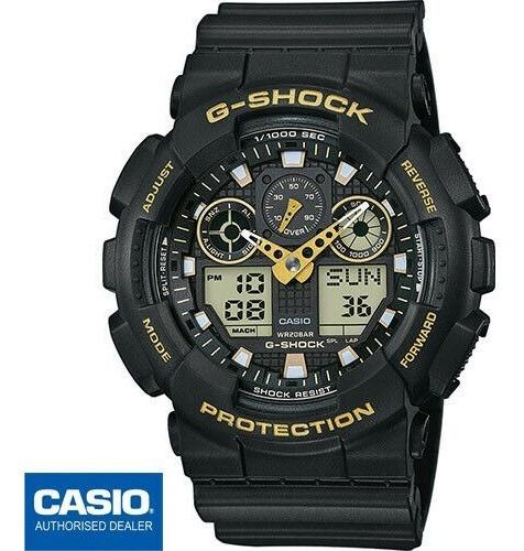 Relógio G-shock Ga-100gbx-1a9dr Original Caixa Certificado.
