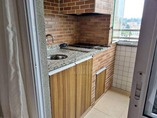 Imagem 1 de 13 de Apartamento Com 2 Dormitórios À Venda, 54 M² Por R$ 365.000,00 - Vila Baeta Neves - São Bernardo Do Campo/sp - Ap1411