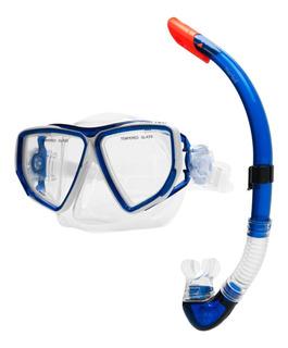 Snorkel Profesional Buceo Mascara Marfed Valvula Cuotas