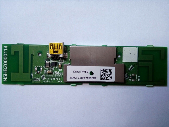 Placa Adaptador Wireless - Tv Panasonic Tc-32es600b