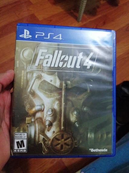 Juego De Ps4 Fallout 4 En Fisico Incluye El Poster