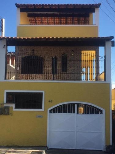 Casa Em Trindade, São Gonçalo/rj De 250m² 5 Quartos À Venda Por R$ 330.000,00 - Ca548553