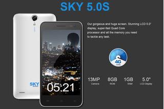 Celular Sky Devices 5.5q, 5.5 , 1gb/8gb Liberado Como Nuevo