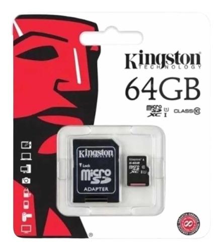 Memoria Microsd 64gb Entrega Inmediata