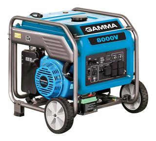 Grupo Electrógeno Gamma 8000v - 7 Kva Inverter Ruedas Usb