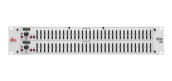 Equalizador Dbx 231s 2 Canais |31 Bandas - Novo C/ Garantia