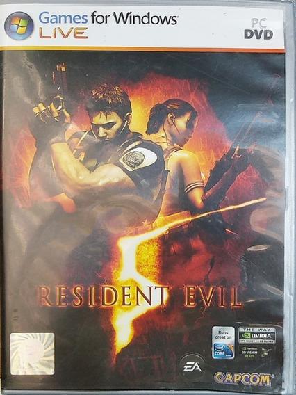 Jogo Resident Evil 5 Pc