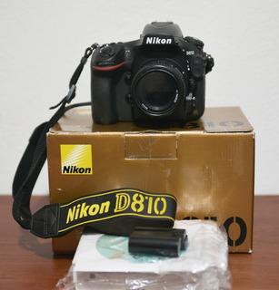 Cámara Nikon D810