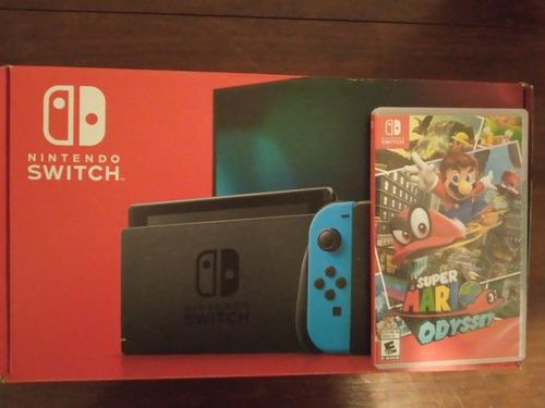 Nintendo Switch Como Nuevo + Mario Odyssey