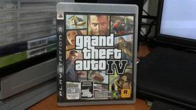 Gta Iv Gran Theft Auto 4 Ps4 Mídia Física Semi-novo Original