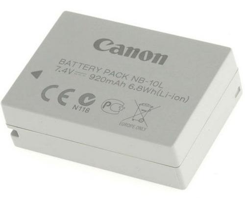 Imagem 1 de 5 de Bateria Original Canon Nb-10l 920mah P/ Câmeras Powershot