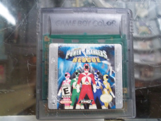 Power Ranger Lightspeed Rescue Game Boy Color