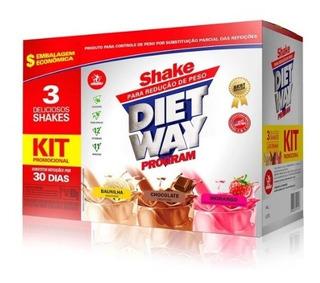 Diet Way Program Midway 900 G - 3 Sabores