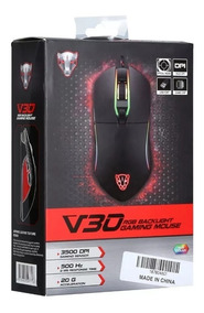 Mouse Motospeed V30 Rgb 3500 Dpi Gamer Chroma Usb Original