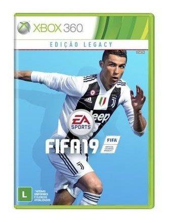 Jogo Fifa 19 Original Mídia Física Xbox 360 Frete Grátis!!!!