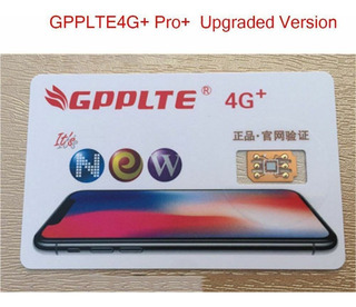 Turbo Sim Gpp Lte (iPhone 11 Pro, Xs, X, Xr, 8, 7, 6s, Plus)