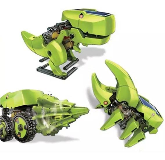 Kit Educacional Robô Solar T3 3x1 Fácil De Montar