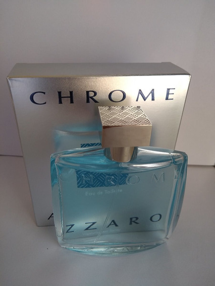 Perfume Azzaro Chrome Edt 100ml Original Usado Frasco Cheio