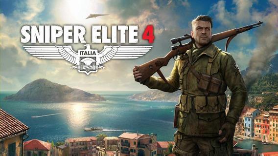 Sniper Elite 4 + 2 Jogo Gratis (mídia Física) Pc-dvd