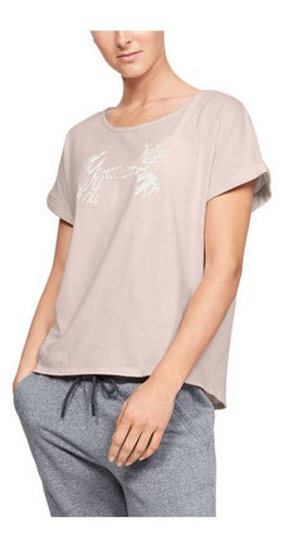Remera Under Armour Graphic Script Logo Mujer
