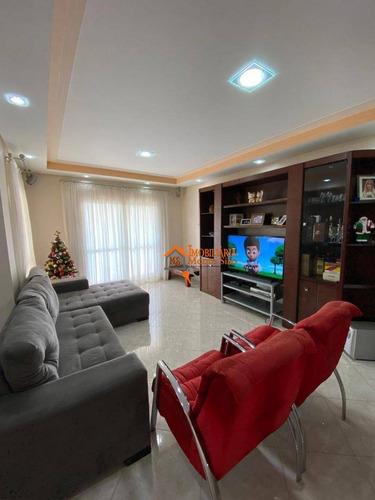Imagem 1 de 24 de Apartamento Com 3 Dormitórios À Venda, 132 M² Por R$ 799.000,00 - Vila Progresso - Guarulhos/sp - Ap2583