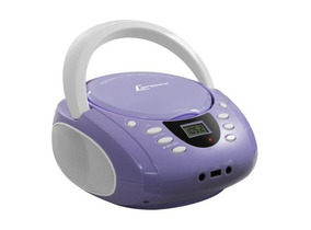 Rádio Lenoxx Bd-120 Lavanda E Branco Rádio Fm / Usb