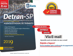 Apostila Detran-sp - Agente Estadual De Trânsito 2019