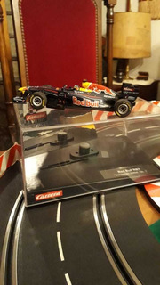 Auto Carrera Slot F1 Red Bull Nuevo Compatible Scx Ninco