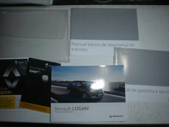 Manual Renault Logan 2016 2017 Original Proprietário Flex