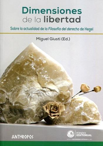 Dimensiones De La Libertad, Miguel Giusti, Anthropos