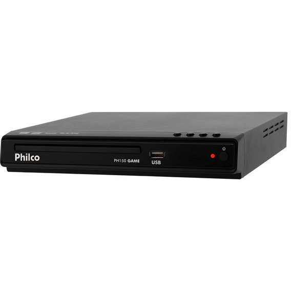Dvd Player Philco Game Usb Com 2 Joysticks Ph150